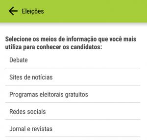 Campo Lista - App -  Umov.me