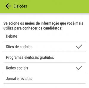 Aplicativos móveis Campo Lista uMov.me02