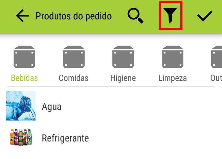 app-mobile-selecionar-filtro-umov-me