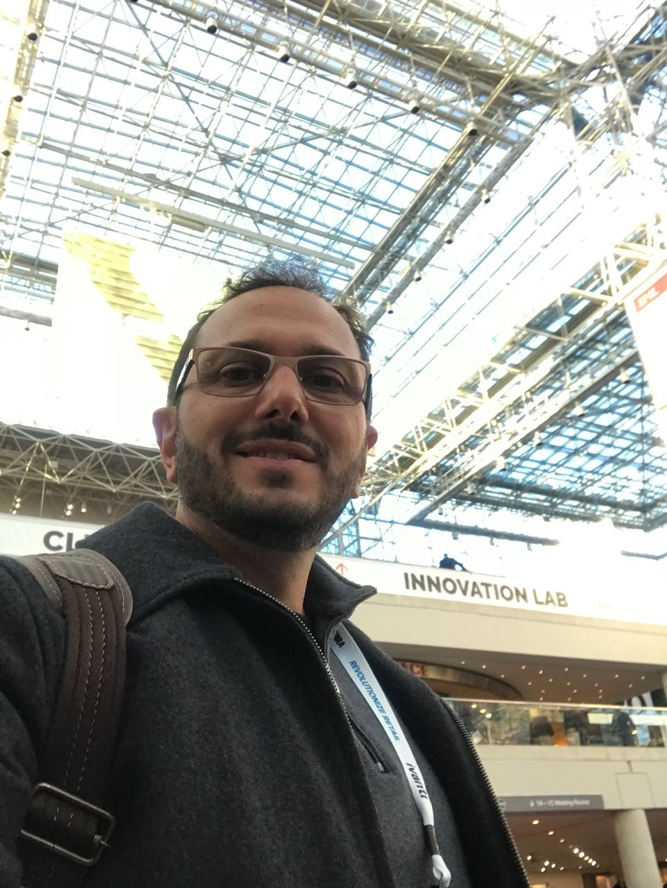 Giovani De Zorzi na NRF Retail's Big Show 2018