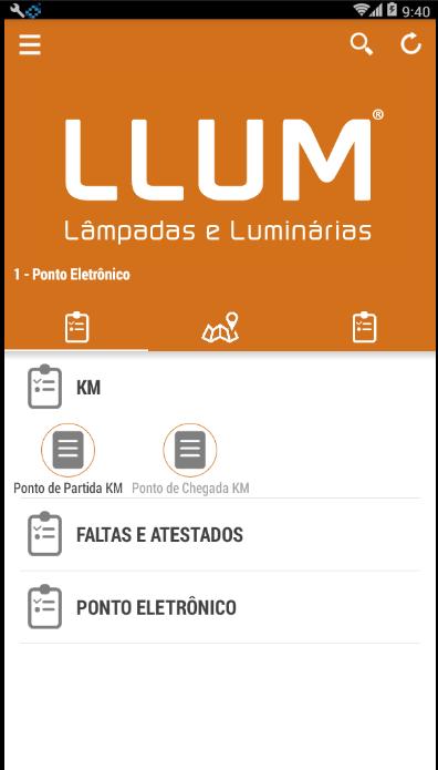 Tela de um dos apps criados pela bronzearte