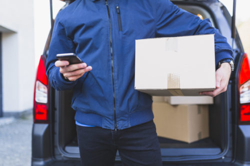 distribuição e entrega