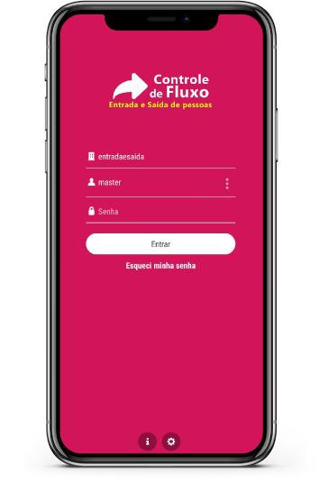app Controle de fluxo