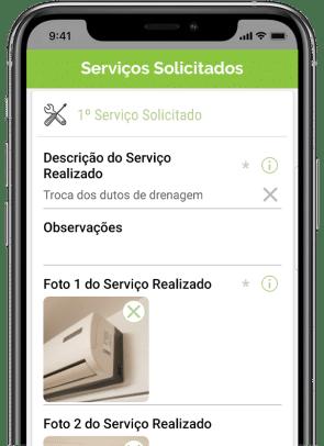 Aplicativo de Ordem de serviços