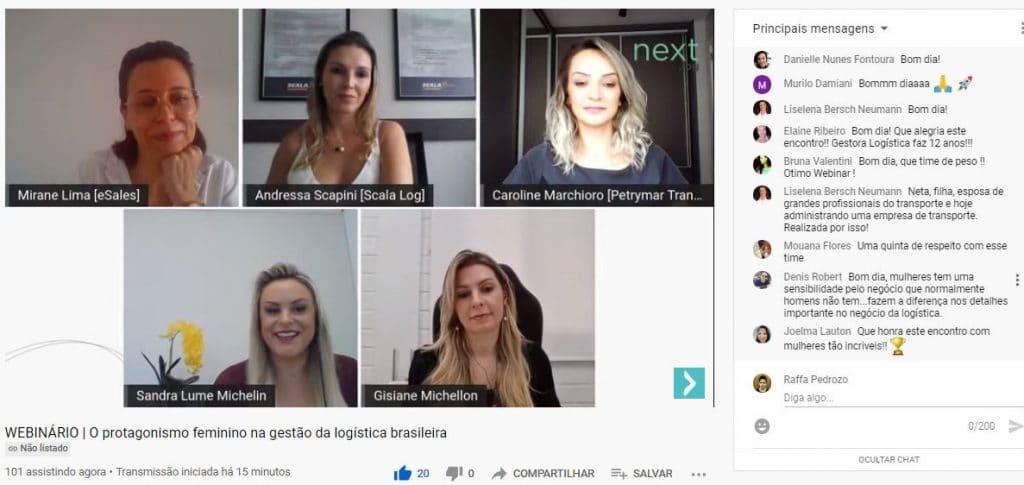 Protagonismo feminino na logística brasileira é pauta de webinar