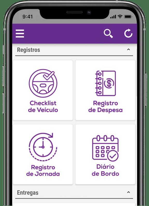 As principais funcionalidades do aplicativo de logística da uMov.me 3