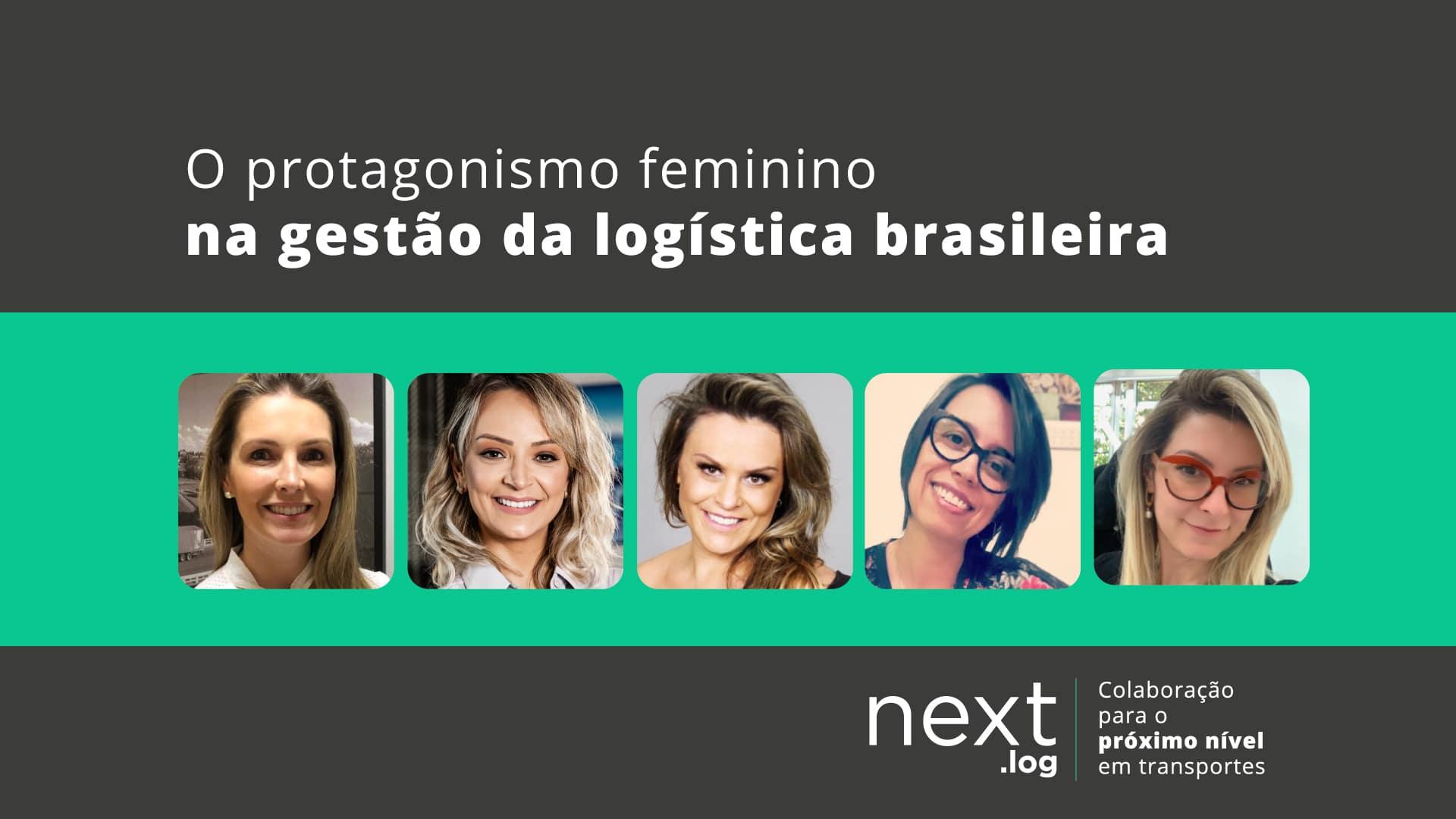 Protagonismo feminino na gestão da logística brasileira