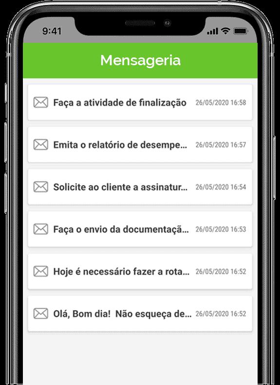 As principais funcionalidades do aplicativo de ordem de serviço da uMov.me 4