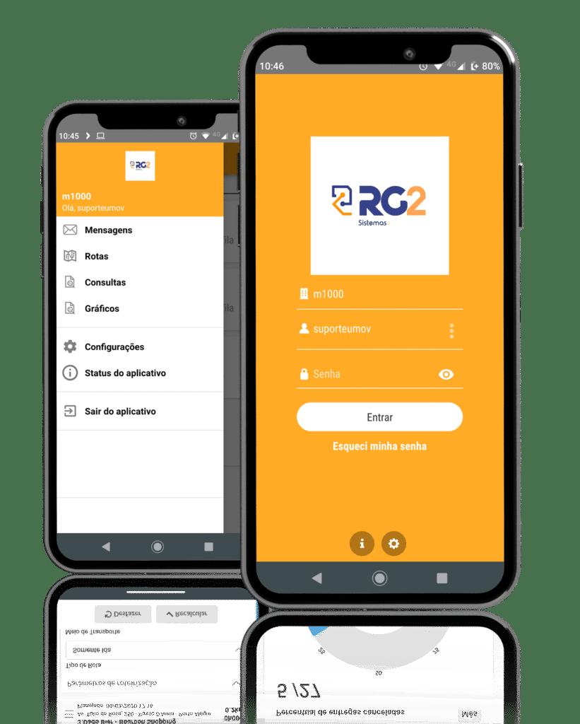 Aplicativo para fábrica de Gelo RG2