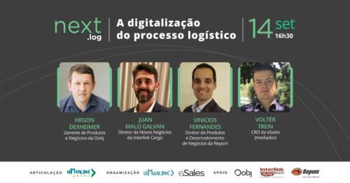 A digitalização do processo logístico: fatos e tendências