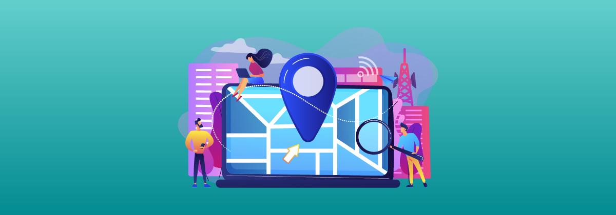 Geolocalização em aplicativos