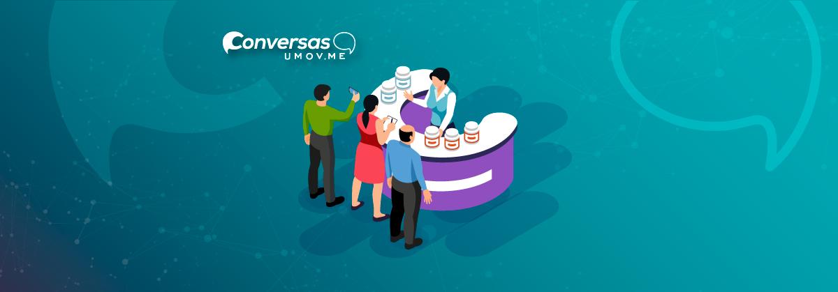 Conversas uMov.me - operações de trade marketing